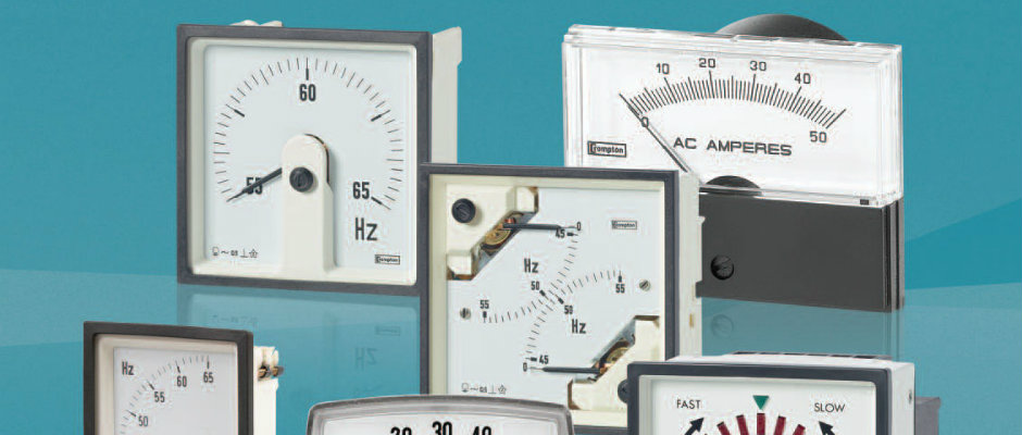 Power Factor Meter Analog : Special sale analog meters crompton canada