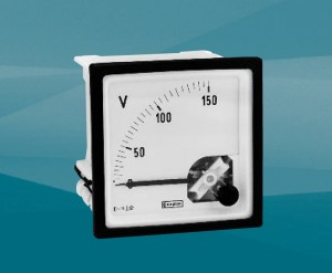 DIN Panel Meter - Moving Iron AC Ammeters and Voltmeters