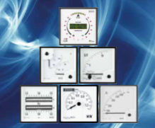 Marine Approved DIN Analog Meters (BV approved)