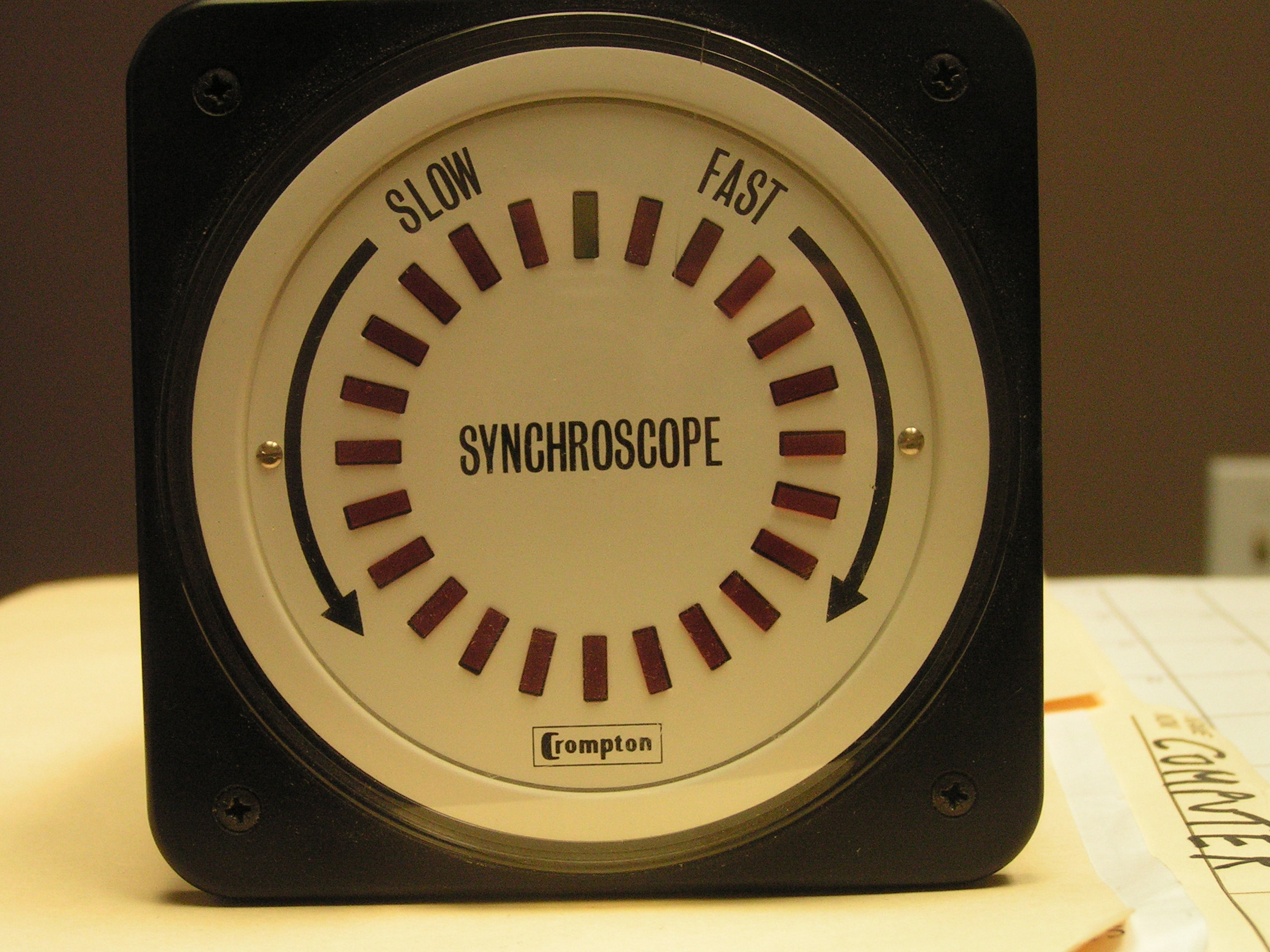 Synchroscopes(LED Digital) 360 Degree